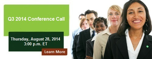 Q2 2013 Conference Call - Thursday, May 23, 2013 at 3:00 p.m. ET