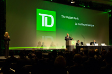TD's Annual Meeting of Common Shareholders