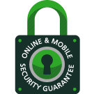 The WebBroker Security Guarantee ensures your online safety and security.