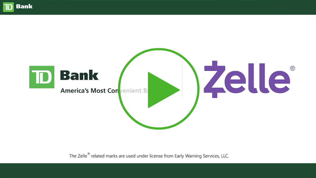 Send Money With Zelle Is Easy Fast And Free For Td Customers